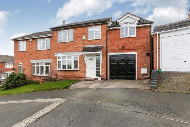 Semi-detached house in  Hadrian Drive  Coleshill  Birmingham  .  Birmingham