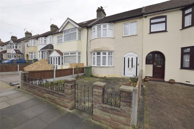 Thumbnail Terraced house for sale in Marshalls Drive, Romford