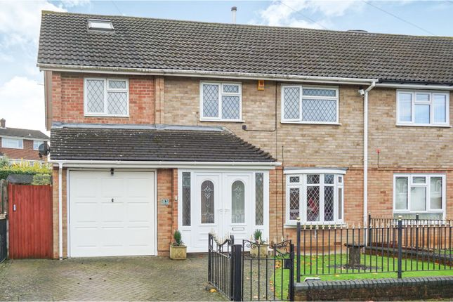 Thumbnail Semi-detached house for sale in Wren Close, Aylesford
