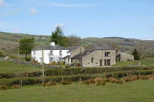 Thumbnail Equestrian property for sale in Bleacott Farm, Witherslack, Winster Valley, South Lakes, Cumbria