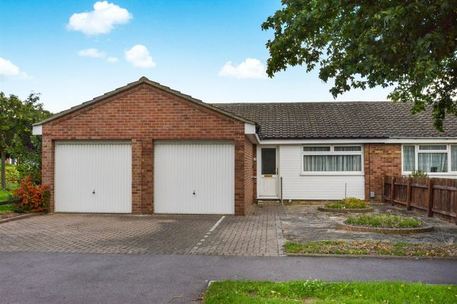 Thumbnail Semi-detached bungalow to rent in Dawlish Drive, Bedford
