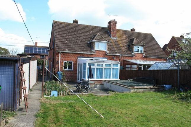 3 bed semi-detached house for sale in Mary Gardens, Okeford Fitzpaine, Blandford Forum