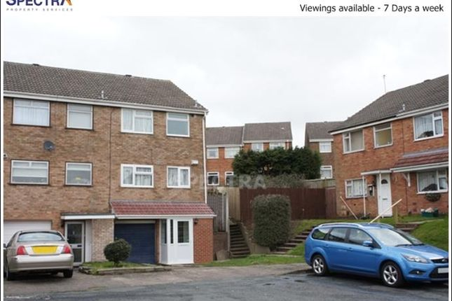 Thumbnail End terrace house to rent in County Close, Stirchley, Birmingham