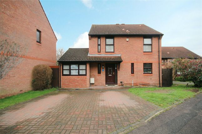 Thumbnail Detached house for sale in Rowhurst Avenue, Addlestone