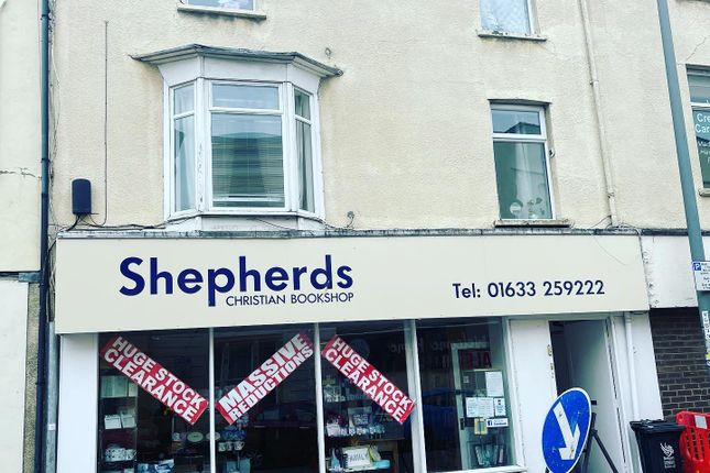 Thumbnail Retail premises to let in Lower Dock Street, Newport