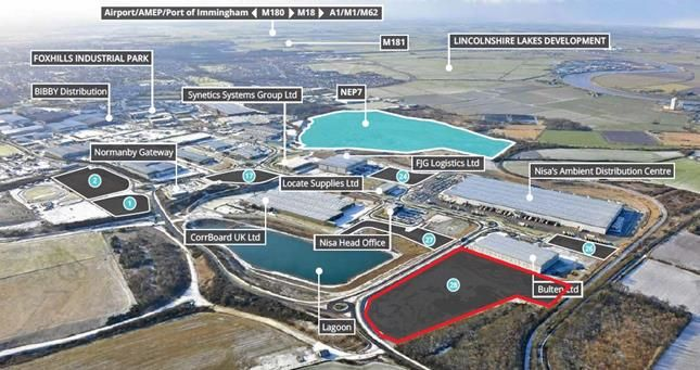 Thumbnail Industrial for sale in Normanby Enterprise Park, Ramsden Road, Scunthorpe, North Lincolnshire