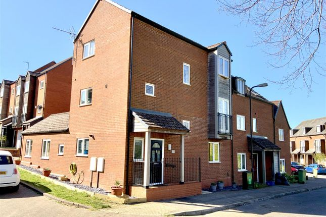 Thumbnail End terrace house for sale in Townlands Crescent, Wolverton Mill, Milton Keynes