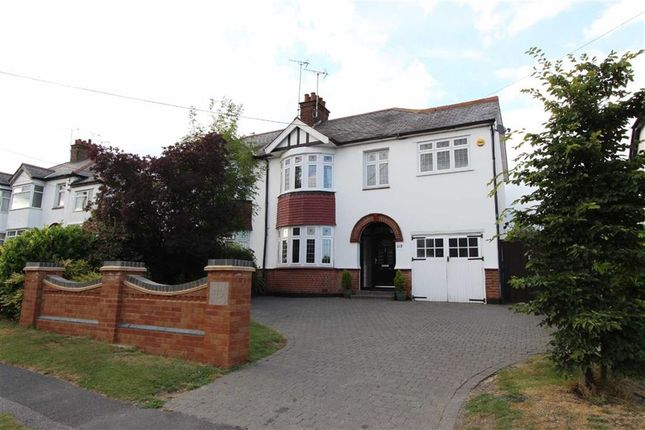 Thumbnail Semi-detached house for sale in Daws Heath Road, Rayleigh, Essex