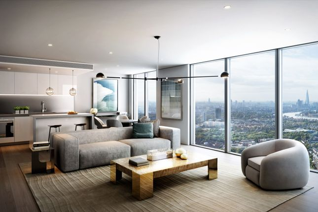 Thumbnail Flat for sale in Landmark Pinnacle, Canary Wharf