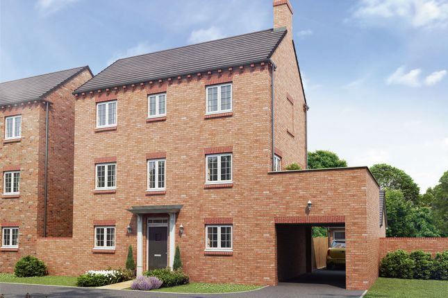 "Thumbnail Detached house for sale in ""The Dorchester"" at Hartburn, Morpeth"