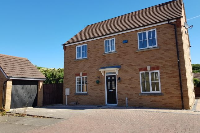 Thumbnail Detached house for sale in Peck Way, Rushden