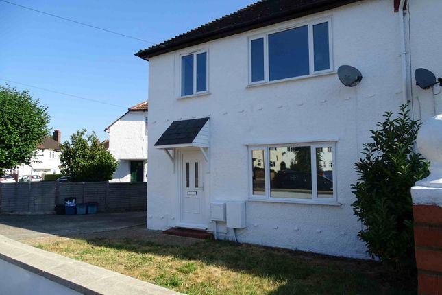 Thumbnail Semi-detached house for sale in Bates Crescent, Croydon, Surrey
