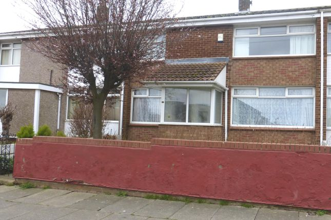 Thumbnail Terraced house to rent in Eddleston Walk, Hartlepool