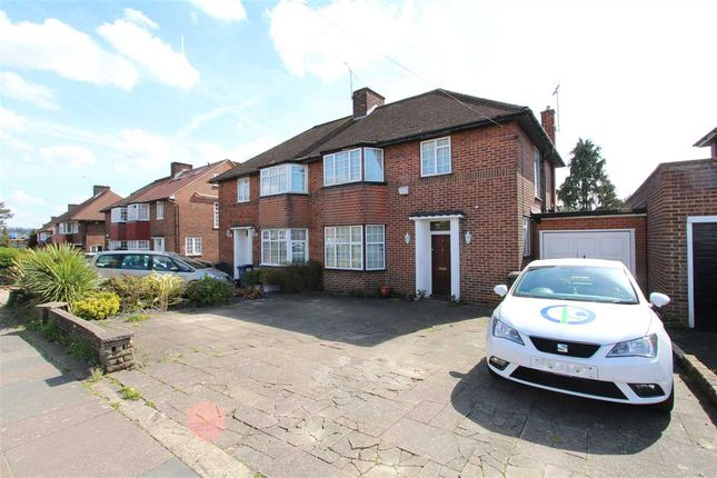 Thumbnail Semi-detached house to rent in Broadhurst Avenue, Edgware