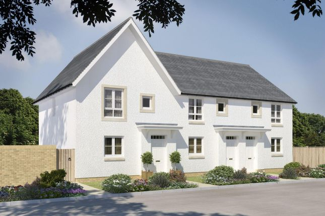 "Thumbnail Terraced house for sale in ""Brodie"" at Mugiemoss Road, Bucksburn, Aberdeen"