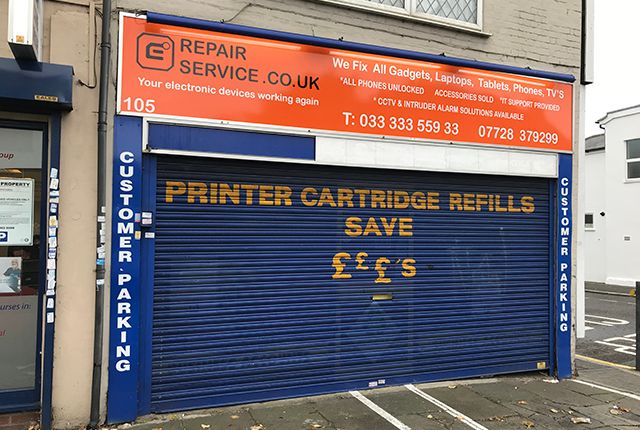 Thumbnail Retail premises for sale in North Street, Romford