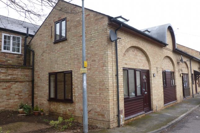 Thumbnail Terraced house to rent in Old Auction Yard, High Street, Chatteris