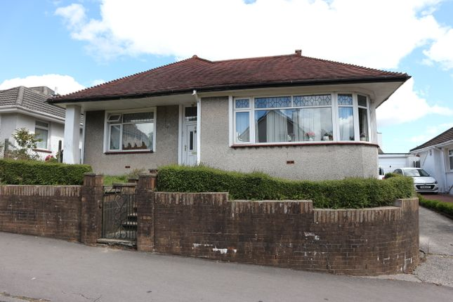 Thumbnail Detached bungalow for sale in Gurnos Road, Gwaelodygarth, Merthyr Tydfil