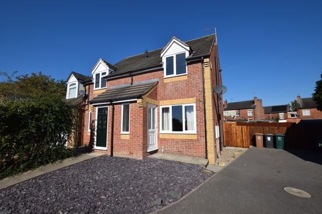 2 bed semi-detached house to rent in Ladyfields Way, Newhall, Swadlincote DE11