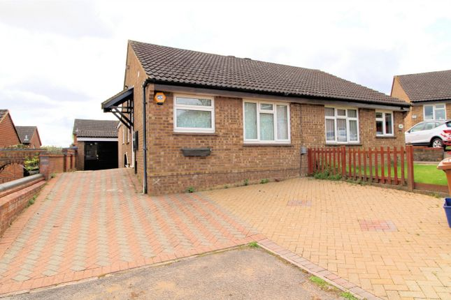 Thumbnail Semi-detached bungalow for sale in Browning Drive, Hitchin, Hertfordshire