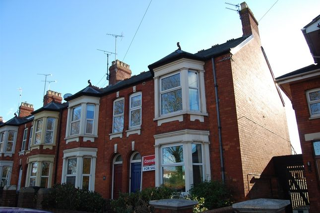 Thumbnail End terrace house for sale in Greenway Road, Taunton