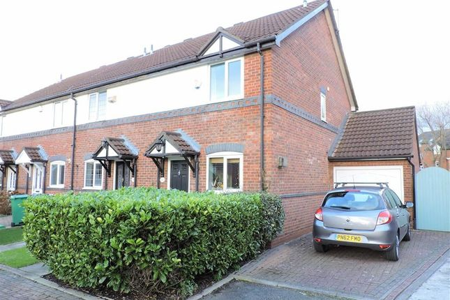 Thumbnail End terrace house for sale in Hanlith Mews, Burnage, Manchester