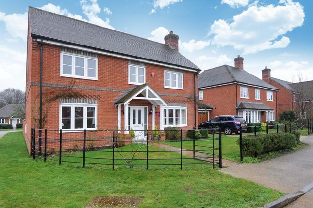 Thumbnail Detached house for sale in Mortons Lane, Upper Bucklebury