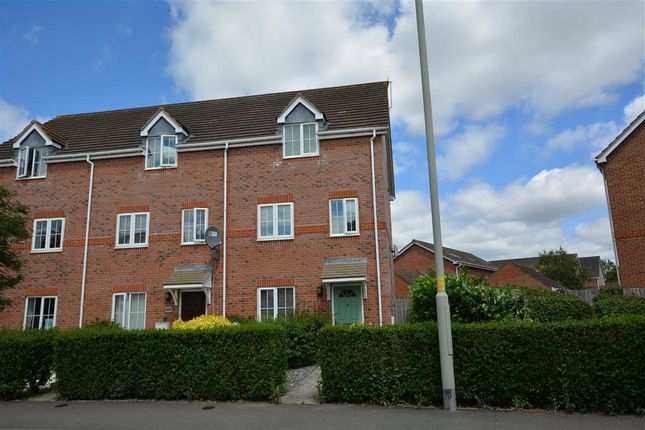 Thumbnail End terrace house for sale in Valley Gardens Kingsway, Quedgeley, Gloucester