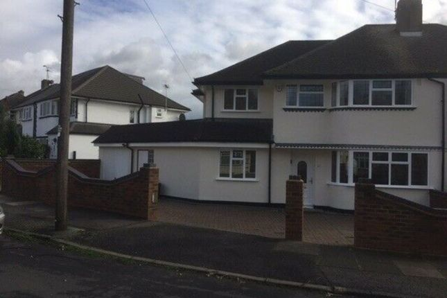 Thumbnail Semi-detached house to rent in Pine Gardens, Ruislip Manor, Ruislip