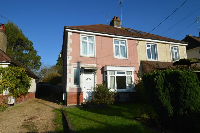Thumbnail Semi-detached house to rent in Greenway Lane, Buriton, Petersfield
