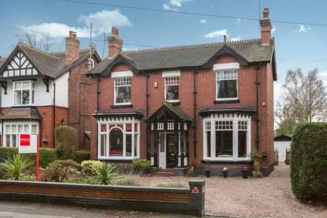 Thumbnail Detached house for sale in Station Road, Alsager, Stoke-On-Trent, Cheshire