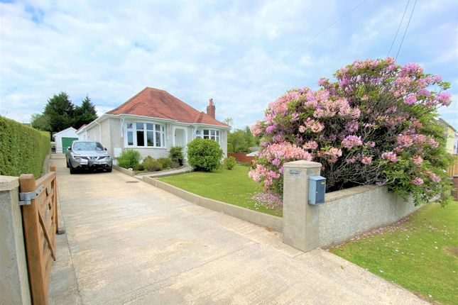 Thumbnail Detached bungalow for sale in Saron Road, Saron, Ammanford