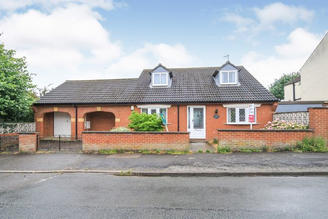 Thumbnail Detached bungalow for sale in Reservoir Road, Kettering