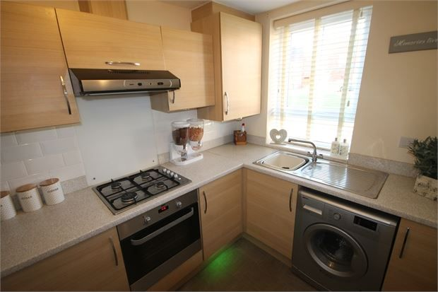 Kitchen of Restfil Way, Fernwood, Newark, Nottinghamshire. NG24