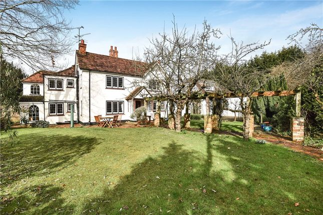 Thumbnail Detached house for sale in Reading Road, Yateley, Hampshire