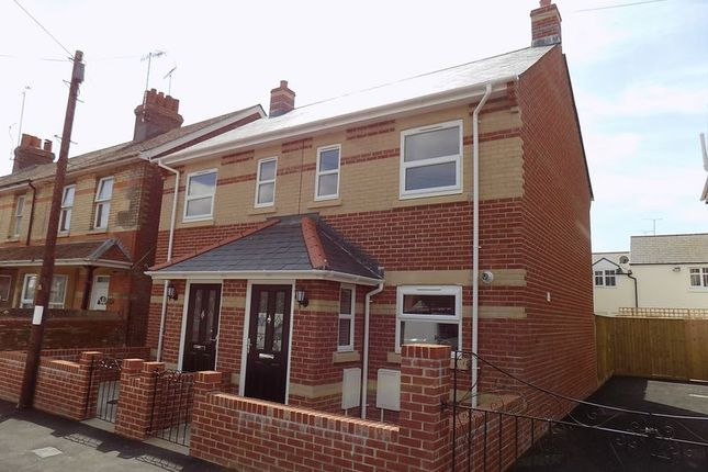 Thumbnail Semi-detached house to rent in Olga Road, Dorchester