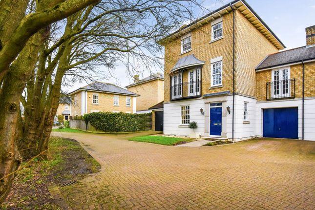 Thumbnail Link-detached house for sale in Skinners Street, Bishop's Stortford, Hertfordshire