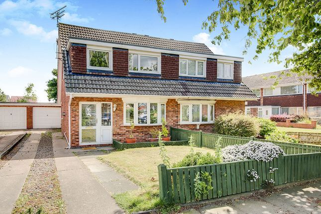 Thumbnail Semi-detached house for sale in Osprey Drive, Blyth