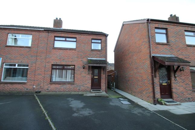 Thumbnail Semi-detached house to rent in Edgewater, Lisburn
