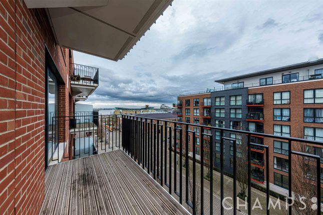 Balcony of Royal Arsenal Riverside, No 1 Street, London SE18