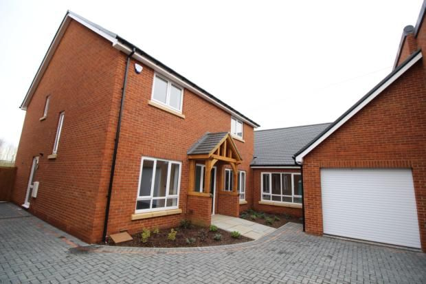 Thumbnail Detached house to rent in Swallow Close, Olney