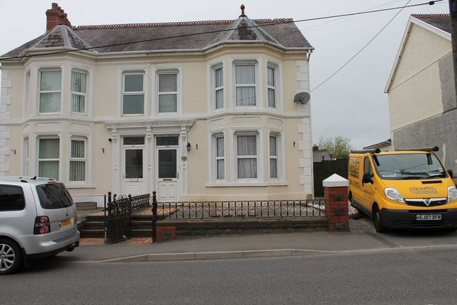 Thumbnail Semi-detached house to rent in Penybanc Road, Ammanford