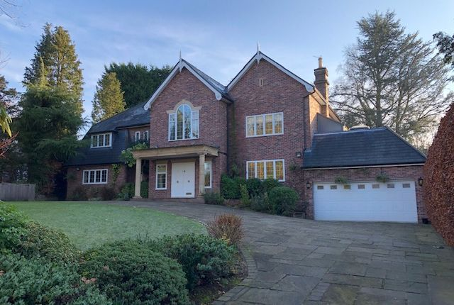 Thumbnail Detached house to rent in Carwood, Hale Barns