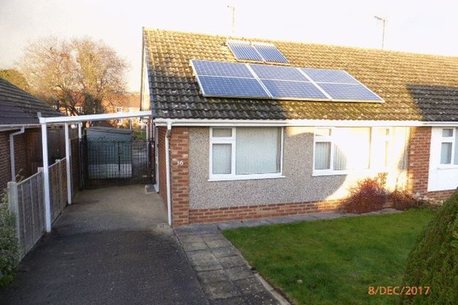 Thumbnail Bungalow to rent in Wellbrook Road, Bishops Cleeve, Cheltenham