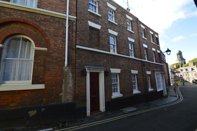 Thumbnail Town house to rent in Cross Hill, Shrewsbury