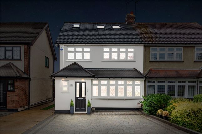 Thumbnail Semi-detached house for sale in Berkshire Way, Hornchurch
