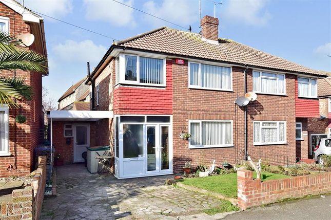 Thumbnail Semi-detached house for sale in Upper Dumpton Park Road, Ramsgate, Kent