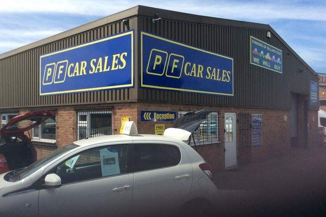 Thumbnail Parking/garage for sale in Anderstaff Industrial Estate, Hawkins Lane, Burton-On-Trent