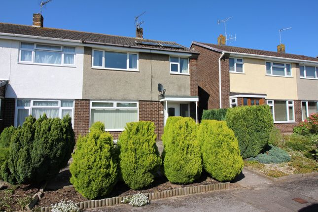 Thumbnail Semi-detached house to rent in Selworthy Gardens, Nailsea