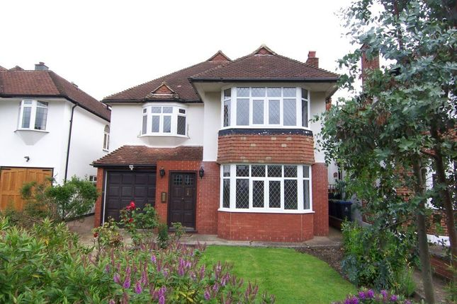 Thumbnail Detached house to rent in Seymour Gardens, Berrylands, Surbiton
